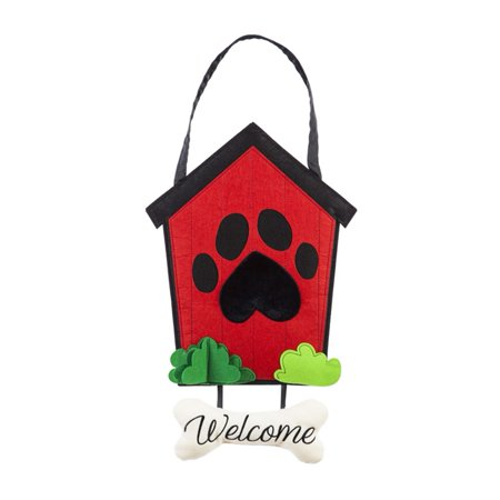 Welcome to the Dog House Door Decor