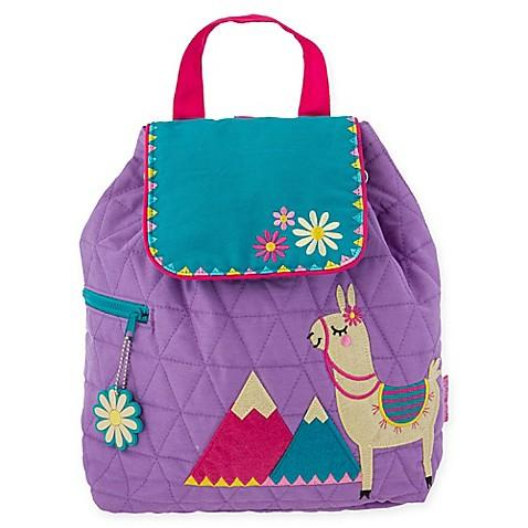 Stephen Joseph Quilted Backpack- Llama