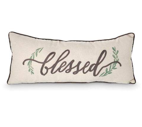 Rectangle Blessed Pillow