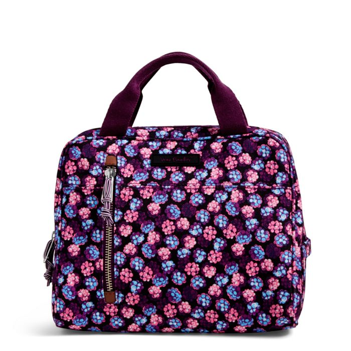 Vera Bradley Lighten Up Lunch Cooler Berry Burst