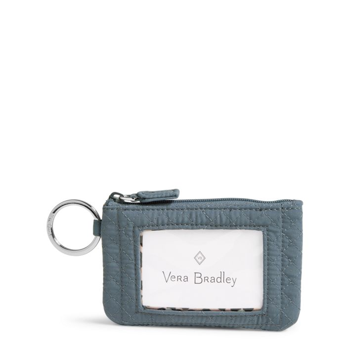 Vera Bradley Iconic Zip ID Case Charcoal