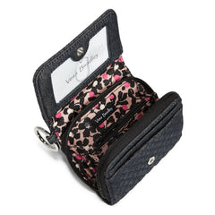 Vera Bradley Iconic RFID Card Case Denim Navy