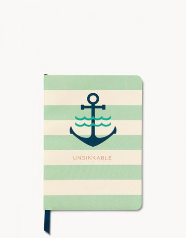 Ruled Notebook Unsinkable