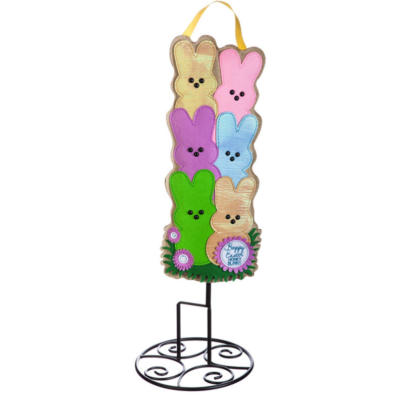 "Happy Easter Honey Bunny 24"" Statement Stake Kit"