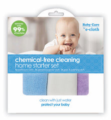 Baby Care by E-Cloth Chemical Free Cleaning Home Starter Kit
