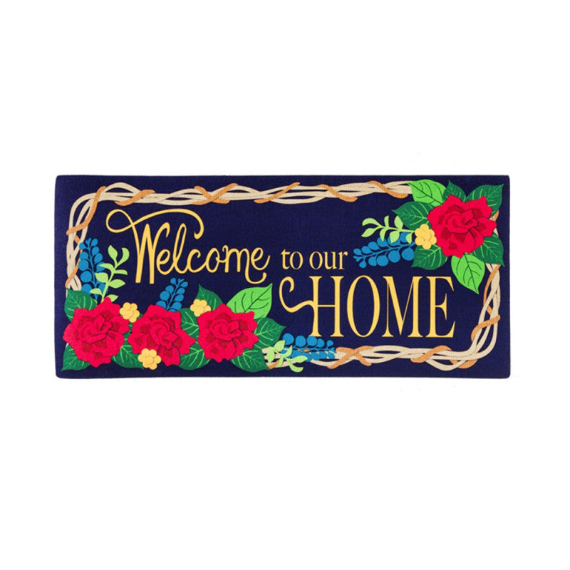 Sassafras Welcome to Our Home Switch Mat