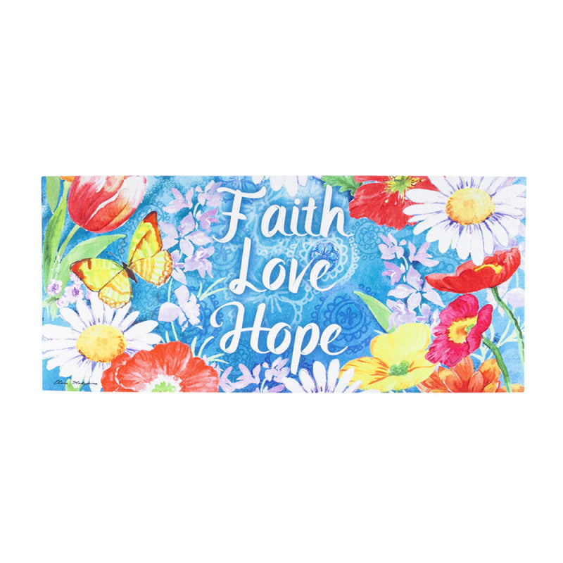 Sassafras Faith Love Hope Switch Mat