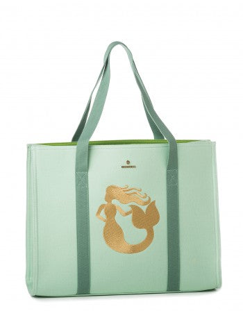 Sea Foam Carry All Tote-Mermaid