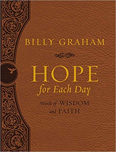 Hope for each day devotional by Billy Graham
