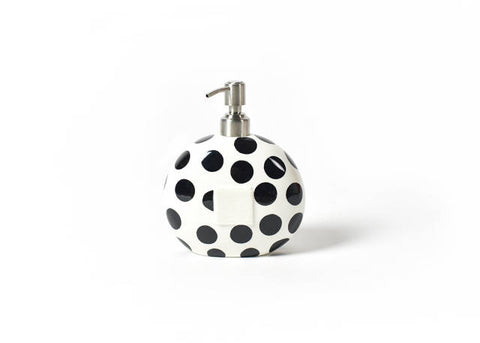 Happy Everything Mini Soap Pump Black Dot