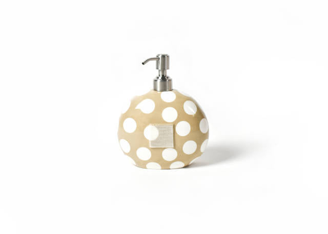 Happy Everything Mini Soap Pump Neutral Dot