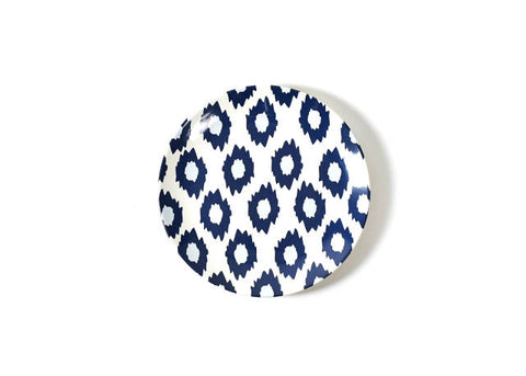 Coton Colors Navy Totem Dinner Plate