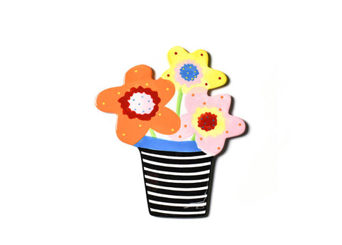 Happy Everything Mini Attachment Flower Pot