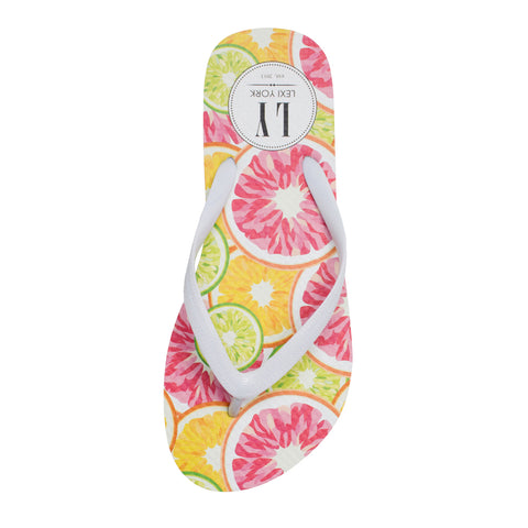 Top It Off - Citrus Flip Flop