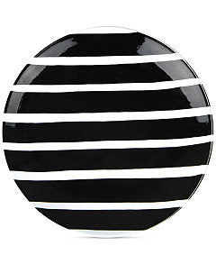 Coton Colors Black Plank Salad Plate