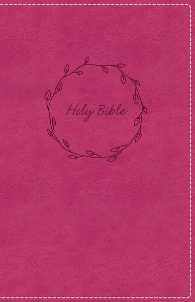 KJV, Deluxe Gift Bible, Leathersoft, Pink, Red Letter Edition, Comfort Print