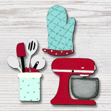 "Roeda Studio Magnets ""Baking"""