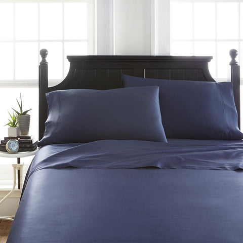 Bamboo Luxury 2000 Series Microfiber Sheet Set: Navy Full
