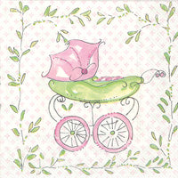 Baby Carriage-Pink