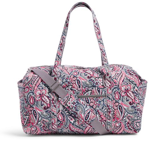 Large Travel Duffel Bag in Gramercy Paisley