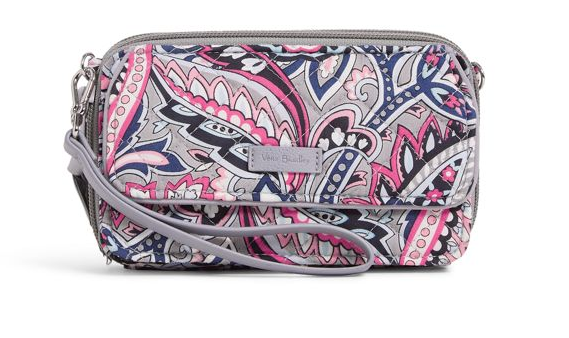 RFID All in One Crossbody in Gramercy Paisley