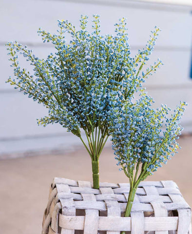 Bursting Astilbe Bush, Sky Blue, 10""