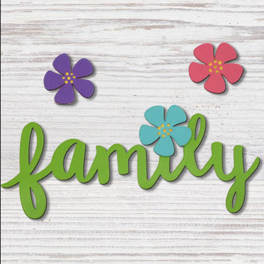 "Roeda Studio Magnets ""Family with Flowers"""