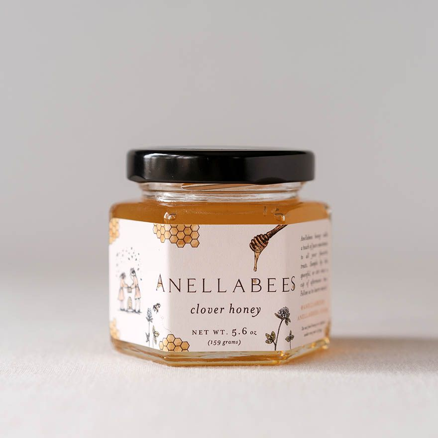 Anellabees Raw Clover Honey