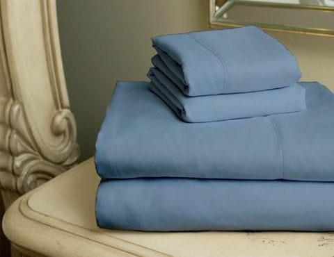 Virah Bella 2200 Series Microfiber Sheet Set: Dark Blue Full