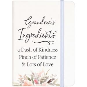 NOTEBOOK Grandma's Ingredients