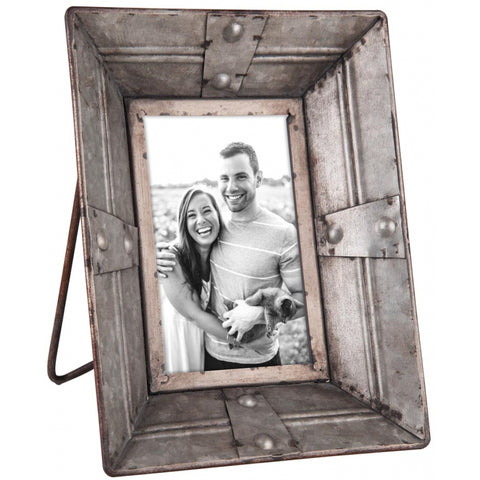 Riveted Photo Frame 4x6