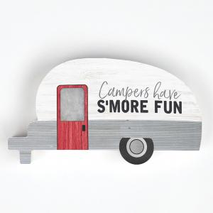 SMALL SHAPE Campers Have S'more Fun