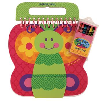 Stephen Joseph Children's Shaped Sketch Pad