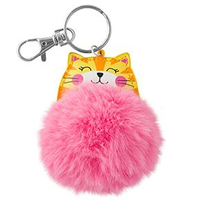 Stephen Joseph Children's Pom Pom Critter Key Chain