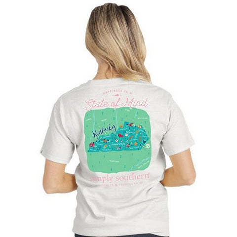 Simply Southern State of Mind Shirt-KY