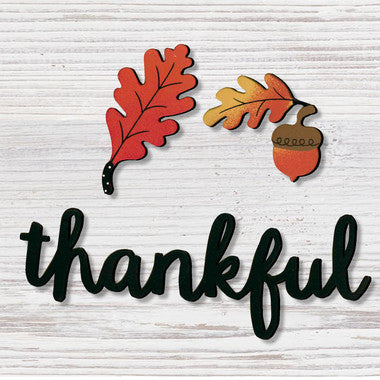 Roeda Brighten Your Life:Thankful w/ Fall Magnets