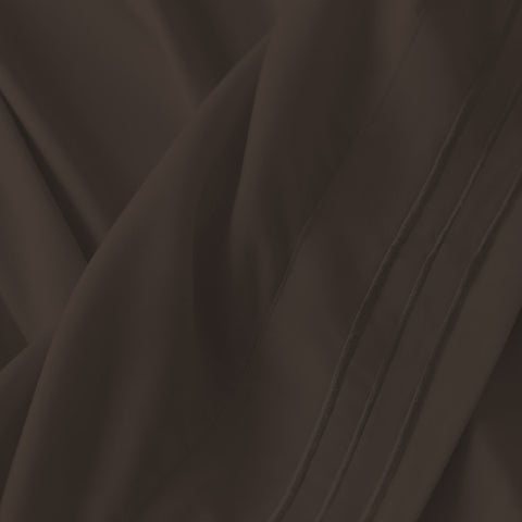 Virah Bella 2200 Series Microfiber Sheet Set: Chocolate Full