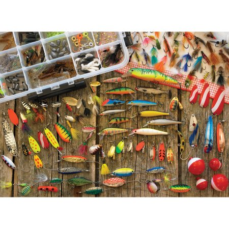"Cobble Hill ""Fishing Lures"" Puzzle"