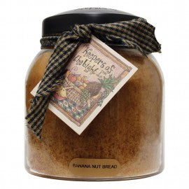 Keepers of the Light Candle- Banana Nut Bread 34 oz. Papa Jar