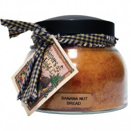 Keepers of the Light Candle- 22 oz. Banana Nut Bread Mama Jar