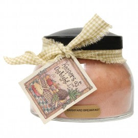 Keepers of the Light Candle- 22 oz. Barnyard Breakfast Mama Jar