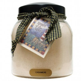Keepers of the Light Candle- Cashmere 34 oz. Papa Jar