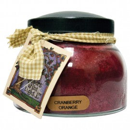 Keepers of the Light Candle- Cranberry Orange 22 oz. Mama Jar