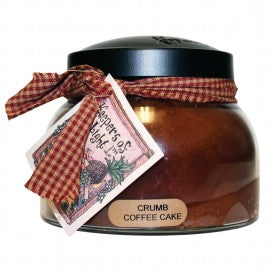 Keepers of the Light Candle- 22 oz. Crumb Coffee Cake Mama Jar