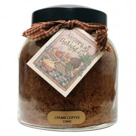 Keepers of the Light Candle- Crumb Coffee Cake 34 oz. Papa Jar