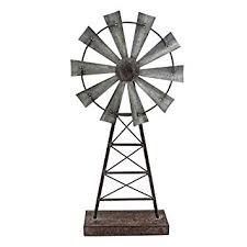 Farmhouse Windmill Table Decor