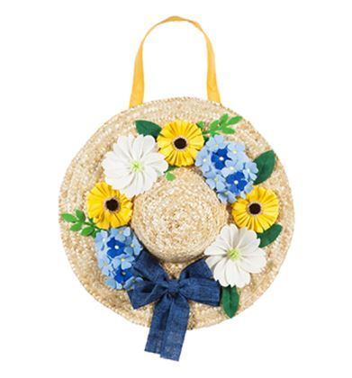 Easter Bonnet Door Decor