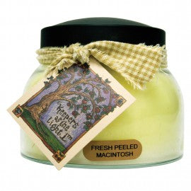 Keepers of the Light Candle- 22 oz. Fresh Peeled Macintosh Mama Jar