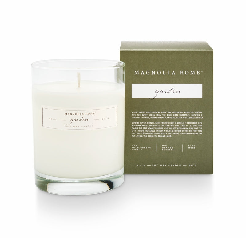 Magnolia Home Candle-Boxed 9.2oz