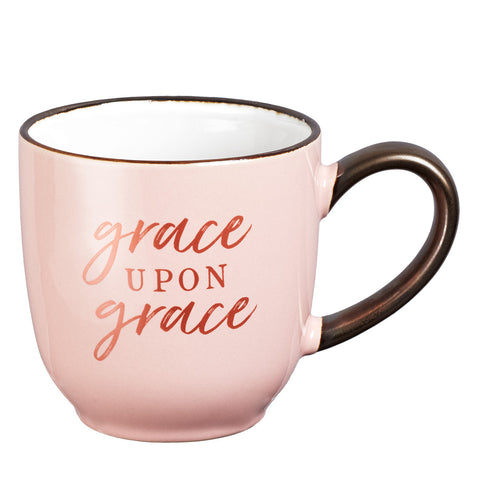 """Grace Upon Grace"" Coffee Cup"